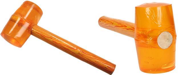 Gumové kladivo oranžové