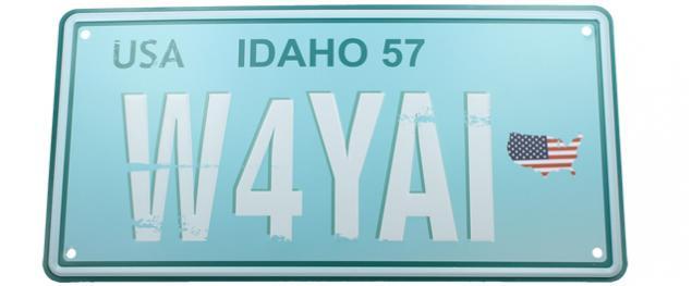 Cedule značka USA 30x15,5 cm USA IDAHO