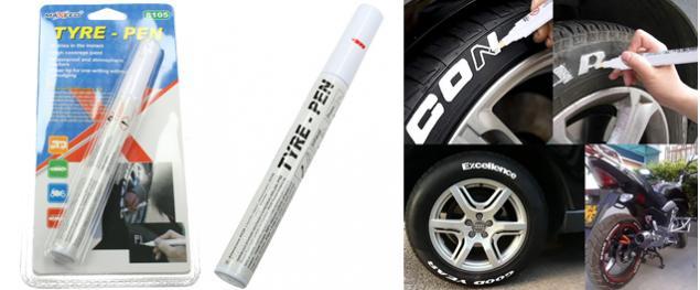 Popisovač pneu bílý XM-17145