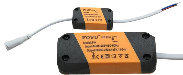 Náhradní LED trafo 6W