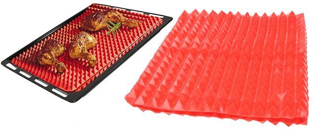 Silikonová pyramidová podložka na pečení