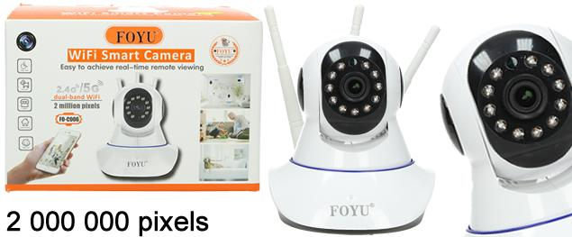 Bezdrátová WIFI bezpečnostní kamera FO-C006