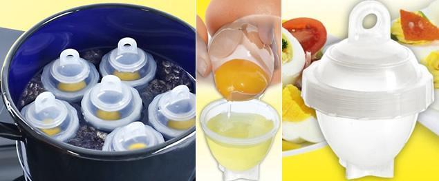 Formy na vaření vajec 6ks