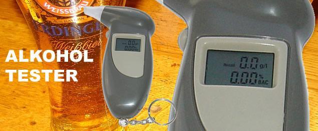 Alkohol tester pro domácí použití