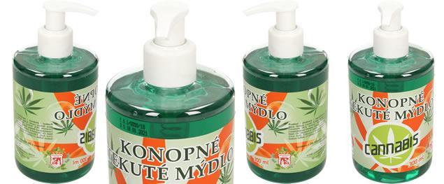Konopné tekuté mýdlo 300 ml